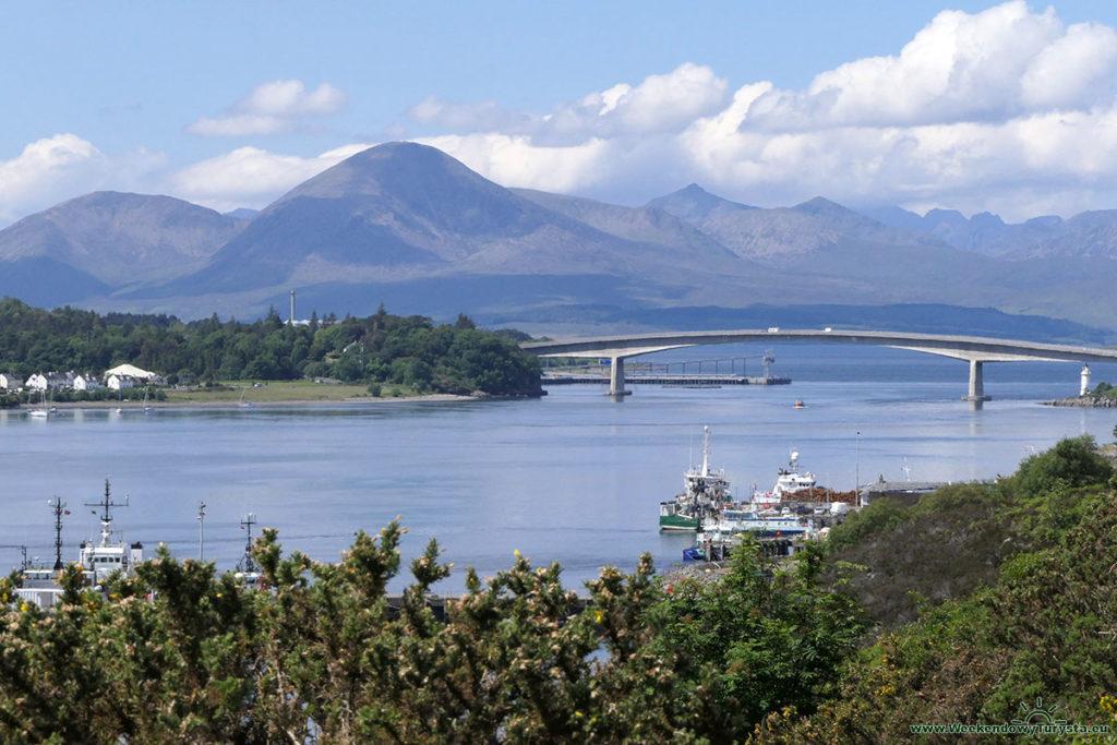 Most na wyspę Skye