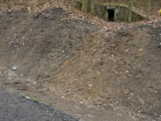 Międzyrzecki Rejon Umocniony - bunkier na działo przeciwpancerne