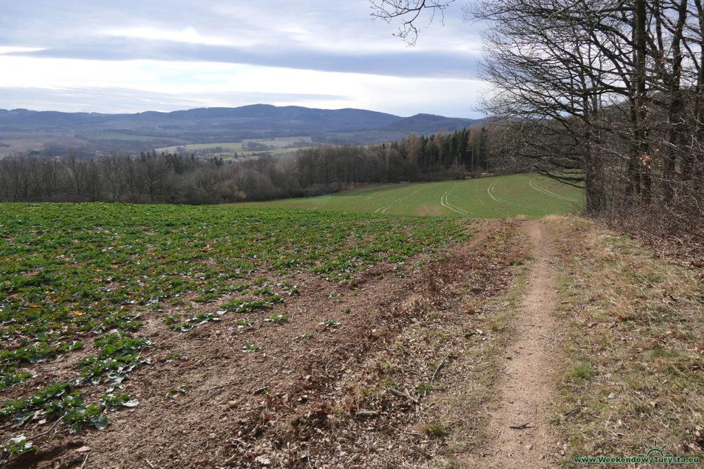 Panorama z żółtego szlaku