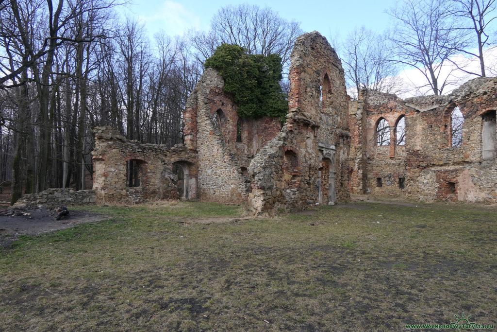 Stary Książ - Ruiny