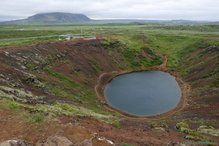 Krater wygasłego wulkanu Grimsnes - Kerið
